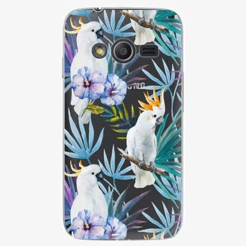 Plastový kryt iSaprio - Parrot Pattern 01 - Samsung Galaxy Trend 2 Lite