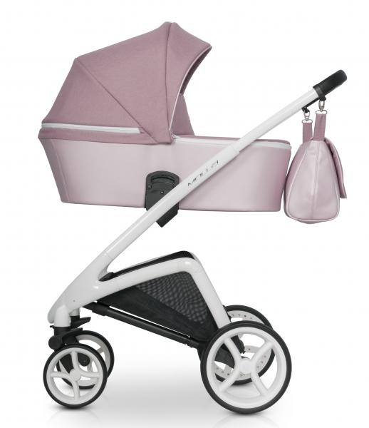 Dětský kočárek Riko 2019 - Molla - powder pink