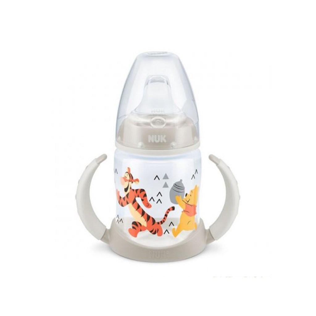 Kojenecká láhev na učení NUK 150 ml Disney Medvídek