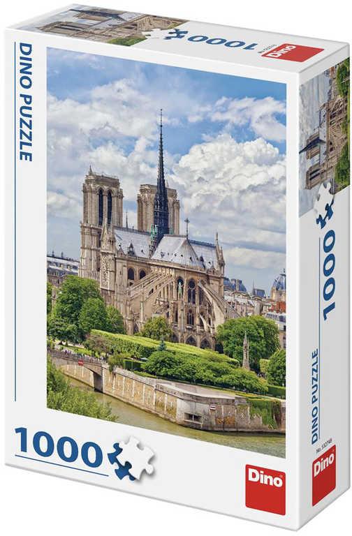 DINO Puzzle1000 dílků Notre-Dame foto 47x66cm skládačka