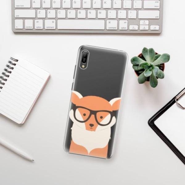 Plastové pouzdro iSaprio - Orange Fox - Huawei Y6 2019