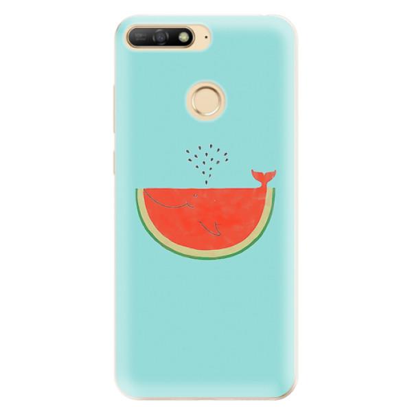 Odolné silikonové pouzdro iSaprio - Melon - Huawei Y6 Prime 2018