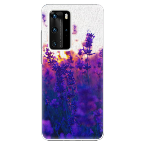 Plastové pouzdro iSaprio - Lavender Field - Huawei P40 Pro
