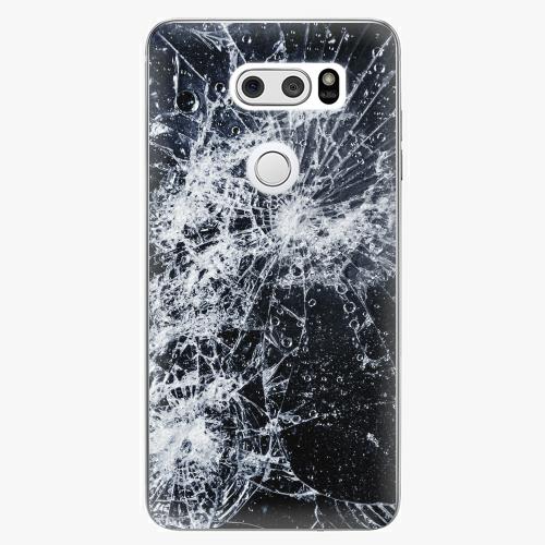 Plastový kryt iSaprio - Cracked - LG V30