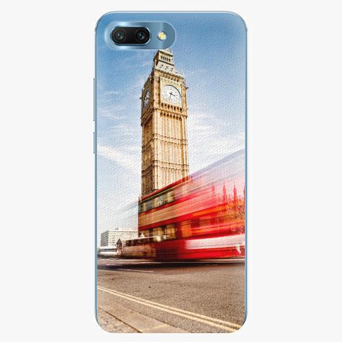 Silikonové pouzdro iSaprio - London 01 - Huawei Honor 10