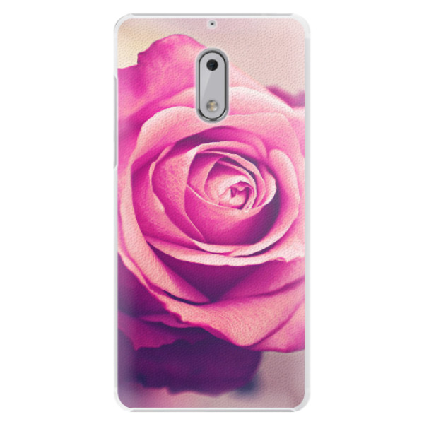Plastové pouzdro iSaprio - Pink Rose - Nokia 6