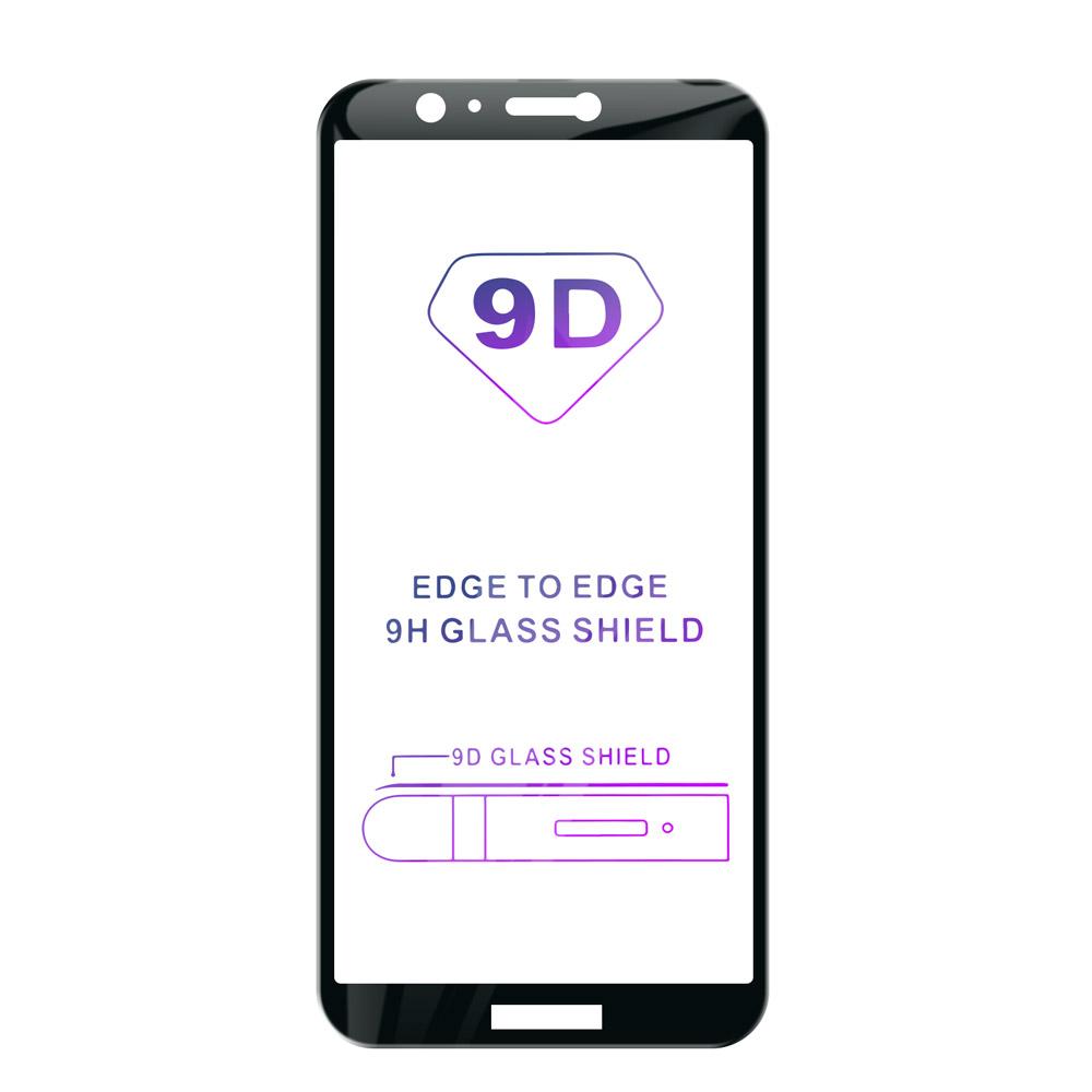 Tvrzené sklo iSaprio 9D BLACK pro Huawei P Smart