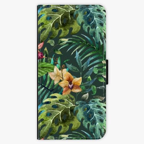 Flipové pouzdro iSaprio - Tropical Green 02 - Samsung Galaxy A3 2017