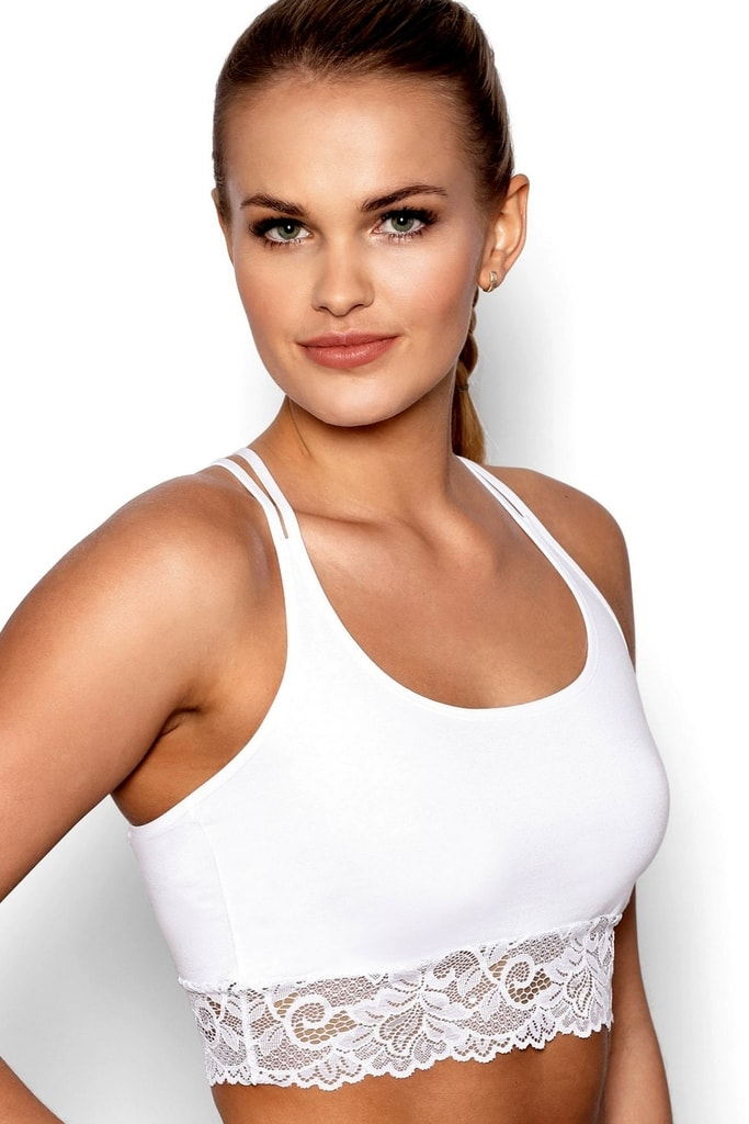 Fitness top Aurora white - XL