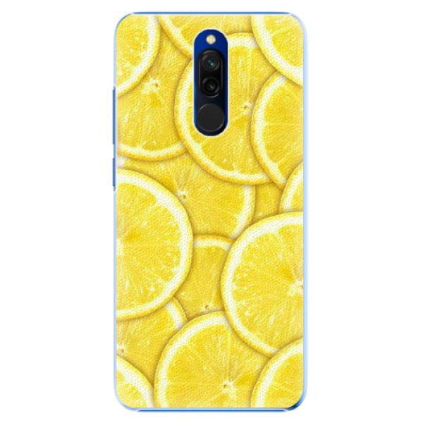Plastové pouzdro iSaprio - Yellow - Xiaomi Redmi 8