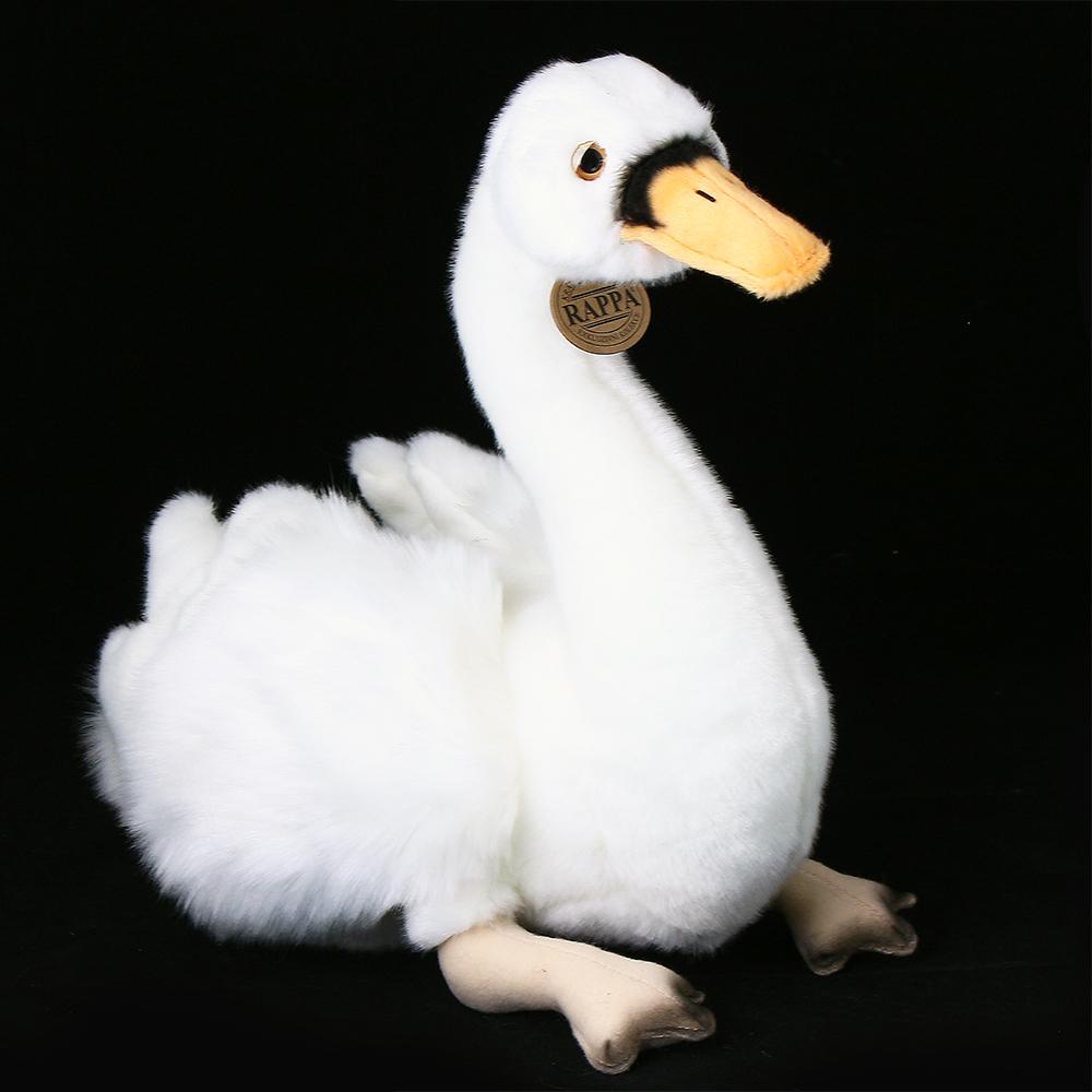 Plyšová labuť sedící 32 cm