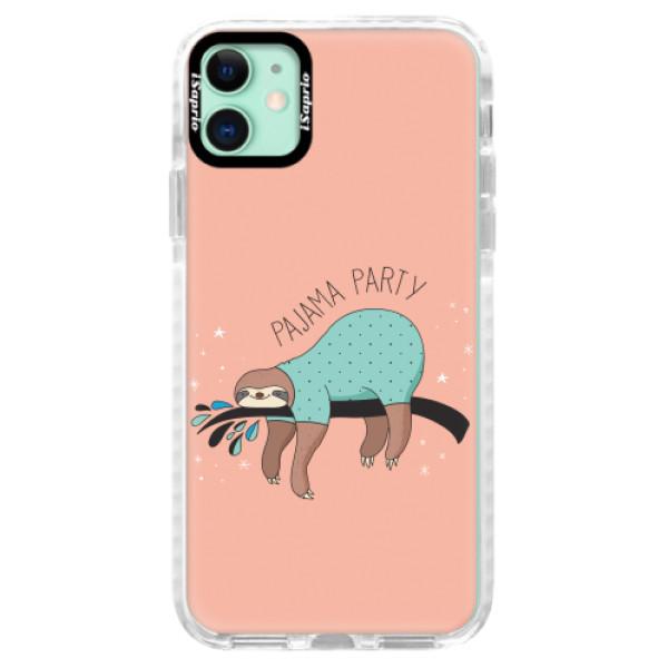 Silikonové pouzdro Bumper iSaprio - Pajama Party - iPhone 11