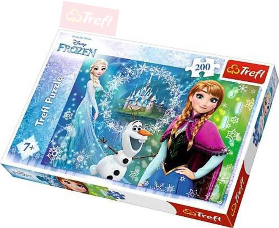 TREFL PUZZLE Ledové Království (Frozen) 200 dílků 48x34cm 113207