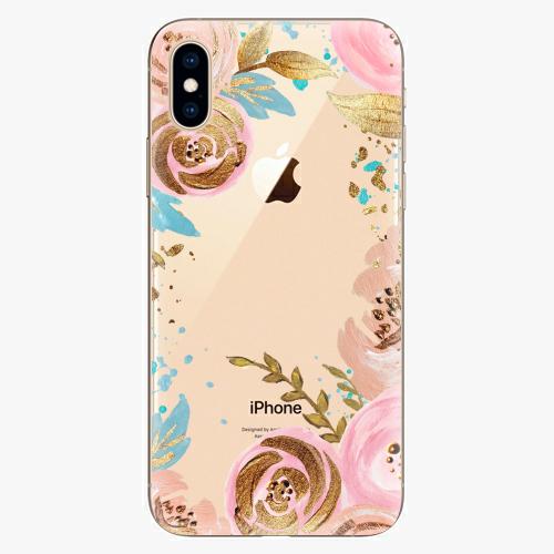 Silikonové pouzdro iSaprio - Golden Youth - iPhone XS