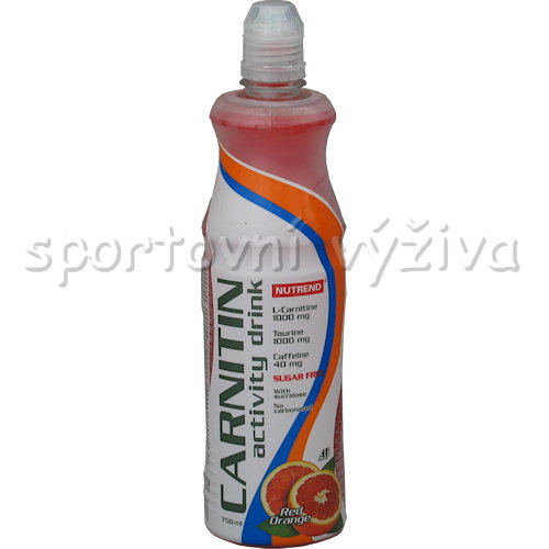 Carnitine Activity drink + Caffeine - 750ml-zeleny-caj-bezinka