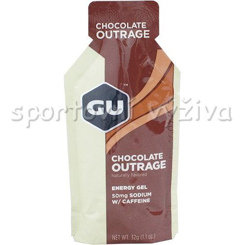 GU Energy Gel 50mg Sodium + Caffeine 32g-chocolate-outrage