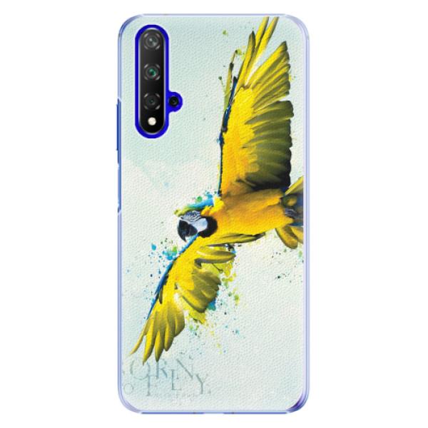 Plastové pouzdro iSaprio - Born to Fly - Huawei Honor 20