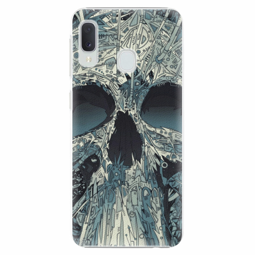 Plastový kryt iSaprio - Abstract Skull - Samsung Galaxy A20e