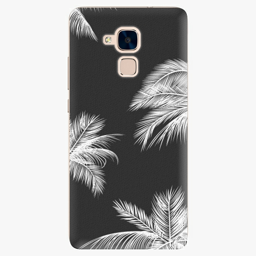 Plastový kryt iSaprio - White Palm - Huawei Honor 7 Lite