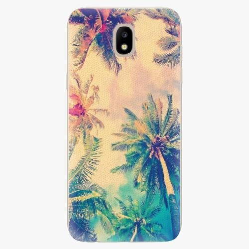 Silikonové pouzdro iSaprio - Palm Beach - Samsung Galaxy J5 2017