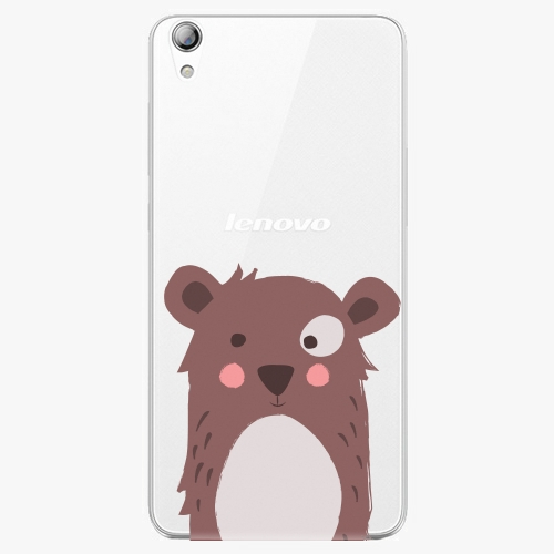 Plastový kryt iSaprio - Brown Bear - Lenovo S850