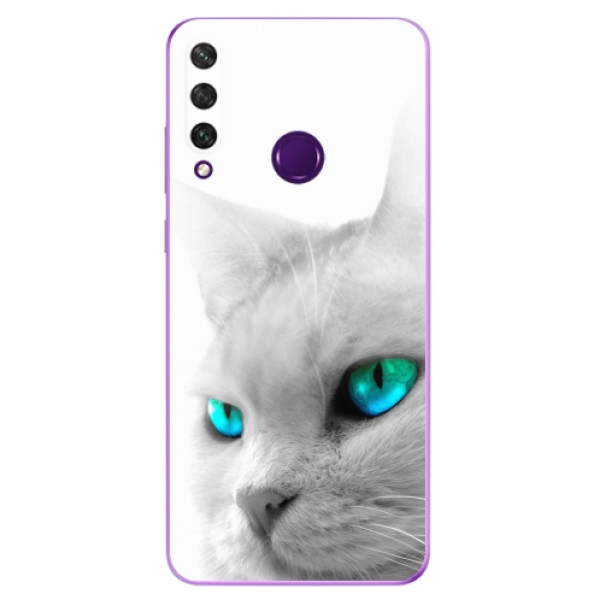 Odolné silikonové pouzdro iSaprio - Cats Eyes - Huawei Y6p