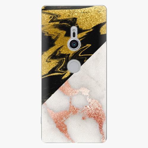 Plastový kryt iSaprio - Shining Marble - Sony Xperia XZ2