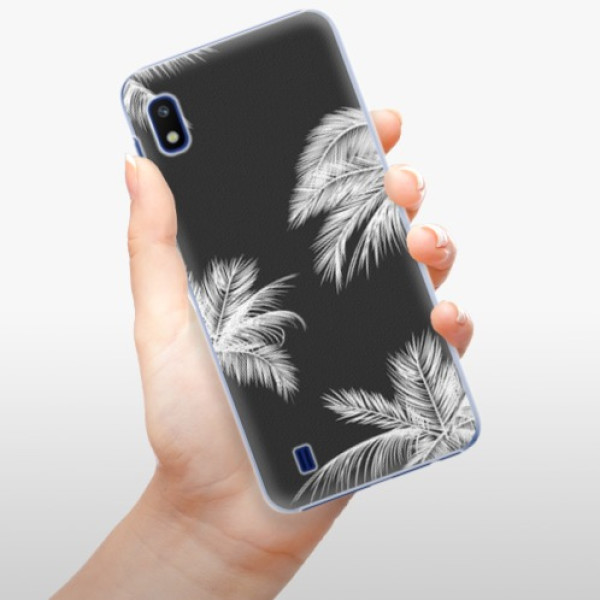 Plastové pouzdro iSaprio - White Palm - Samsung Galaxy A10