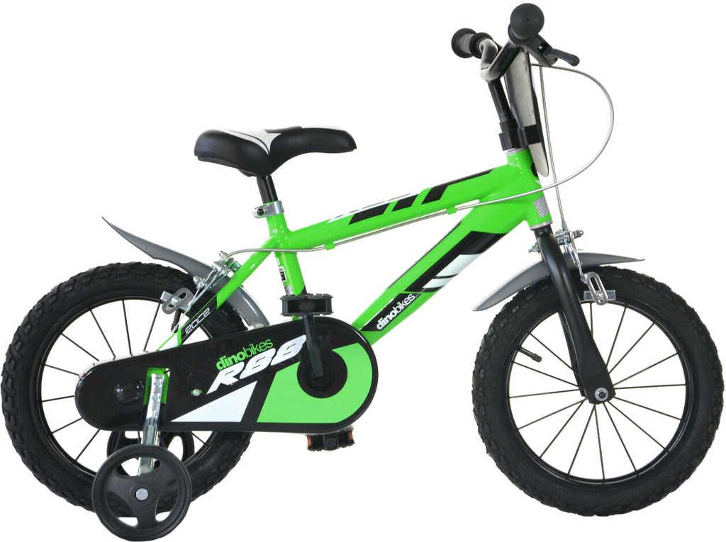 ACRA Dětské kolo Dino Bikes zelené chlapecké 16