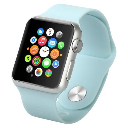 Gumový pásek / řemínek Baseus Fresh pro Apple Watch 42mm modrý