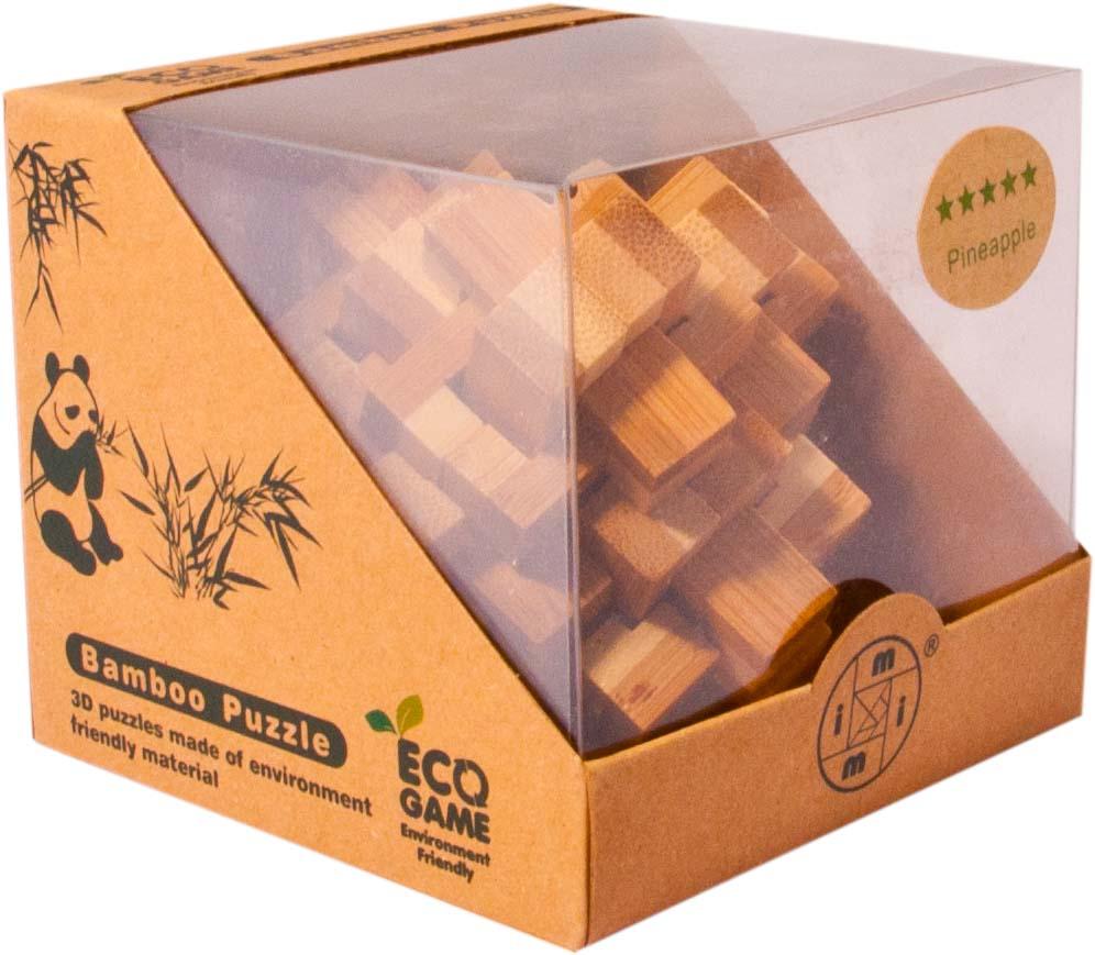 Bambusový hlavolam - Schody