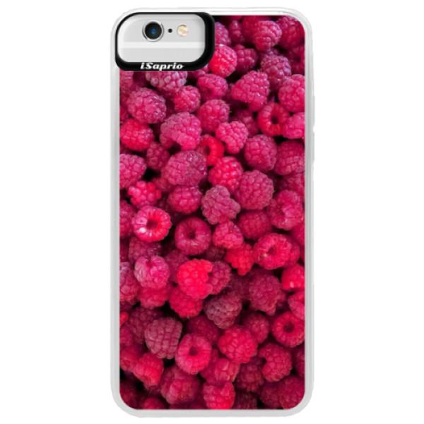 Neonové pouzdro Blue iSaprio - Raspberry - iPhone 6 Plus/6S Plus