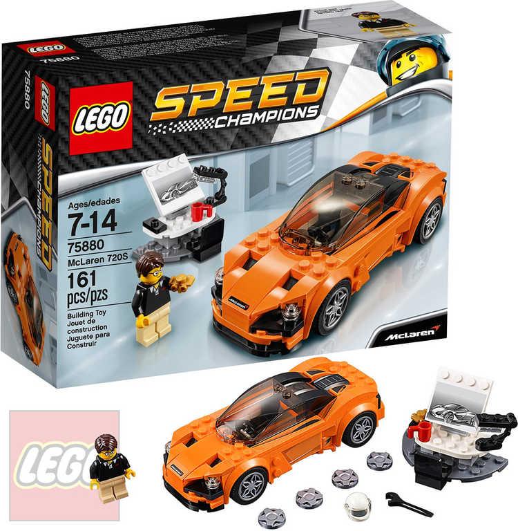 LEGO SPEED CHAMPIONS McLaren 720S 75880 STAVEBNICE