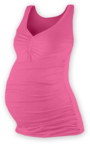 JOŽÁNEK Těhotenský topík JOLANA - růžová