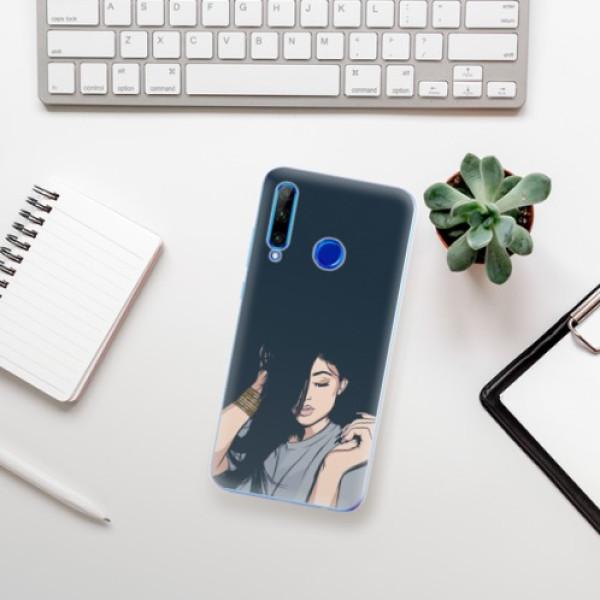 Odolné silikonové pouzdro iSaprio - Swag Girl - Huawei Honor 20 Lite