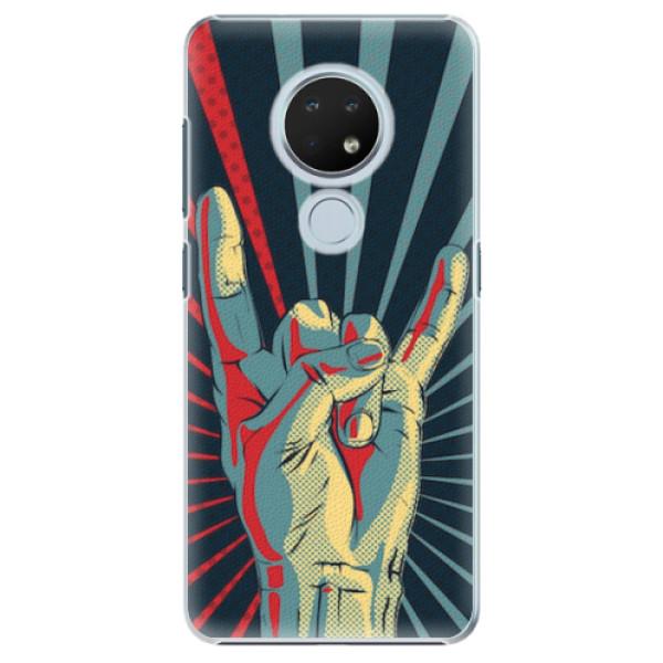 Plastové pouzdro iSaprio - Rock - Nokia 6.2