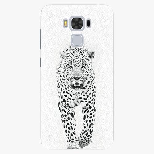 Plastový kryt iSaprio - White Jaguar - Asus ZenFone 3 Max ZC553KL