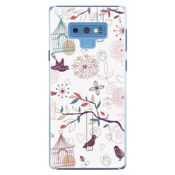 Plastové pouzdro iSaprio - Birds - Samsung Galaxy Note 9