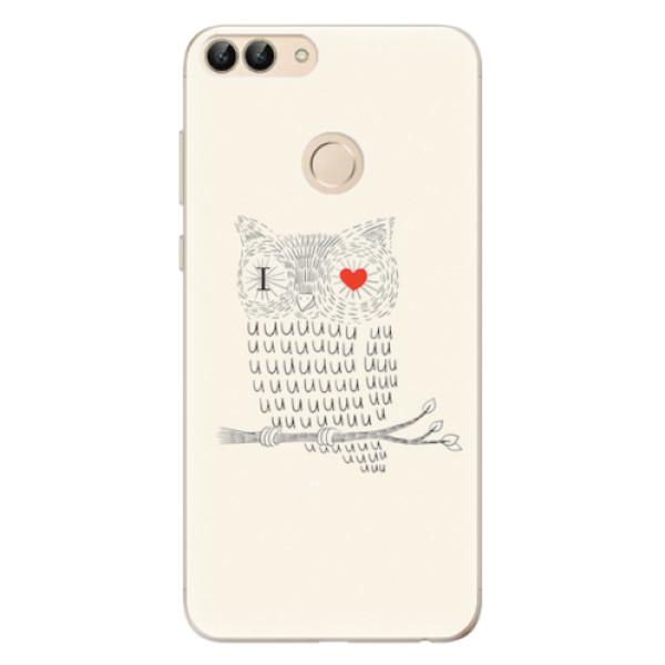 Odolné silikonové pouzdro iSaprio - I Love You 01 - Huawei P Smart