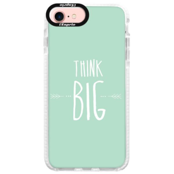 Silikonové pouzdro Bumper iSaprio - Think Big - iPhone 7