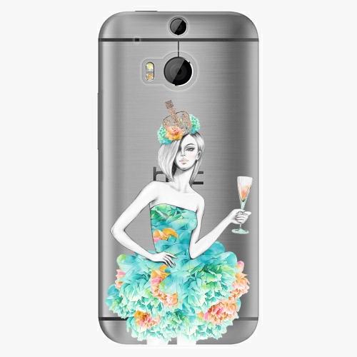 Plastový kryt iSaprio - Queen of Parties - HTC One M8