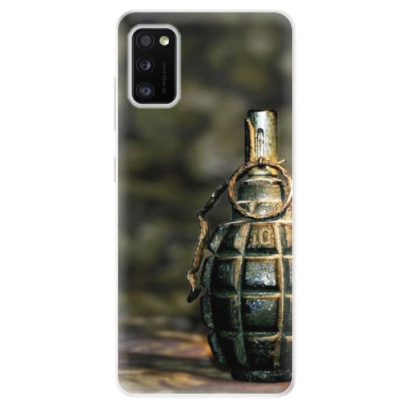 Odolné silikonové pouzdro iSaprio - Grenade - Samsung Galaxy A41