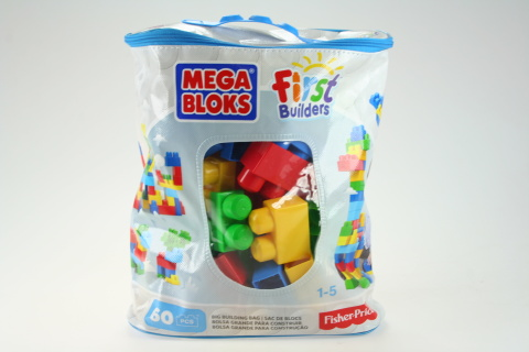 Mega Bloks FB Big Building Bag Boys (60) DCH55