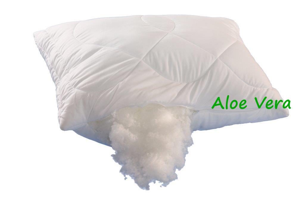Polštář Aloe Vera 70x90cm 900g se zipem kuličky UNICO