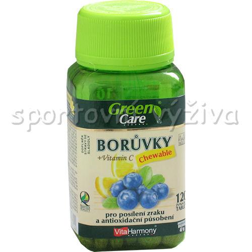 Borůvky s vitaminem C Chewable 120 tablet