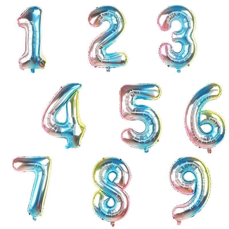 Nafukovací balónky čísla - 1