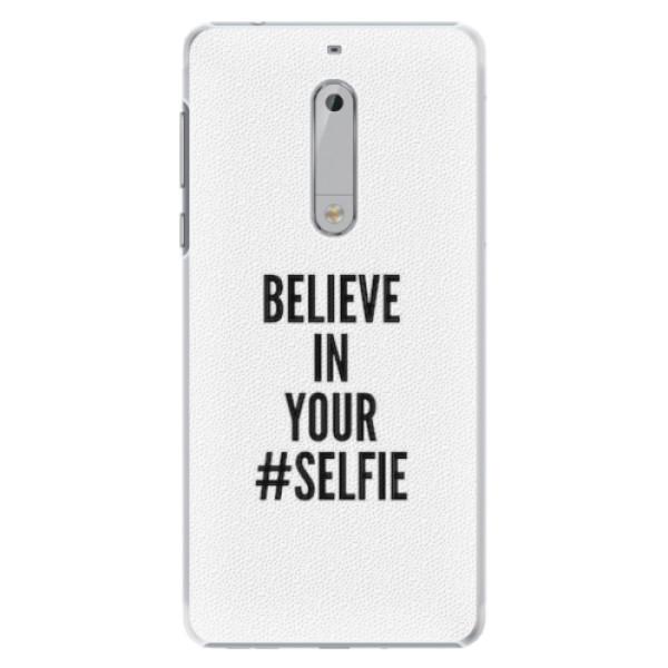 Plastové pouzdro iSaprio - Selfie - Nokia 5