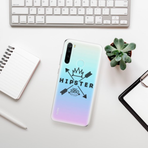 Odolné silikonové pouzdro iSaprio - Hipster Style 02 - Xiaomi Redmi Note 8