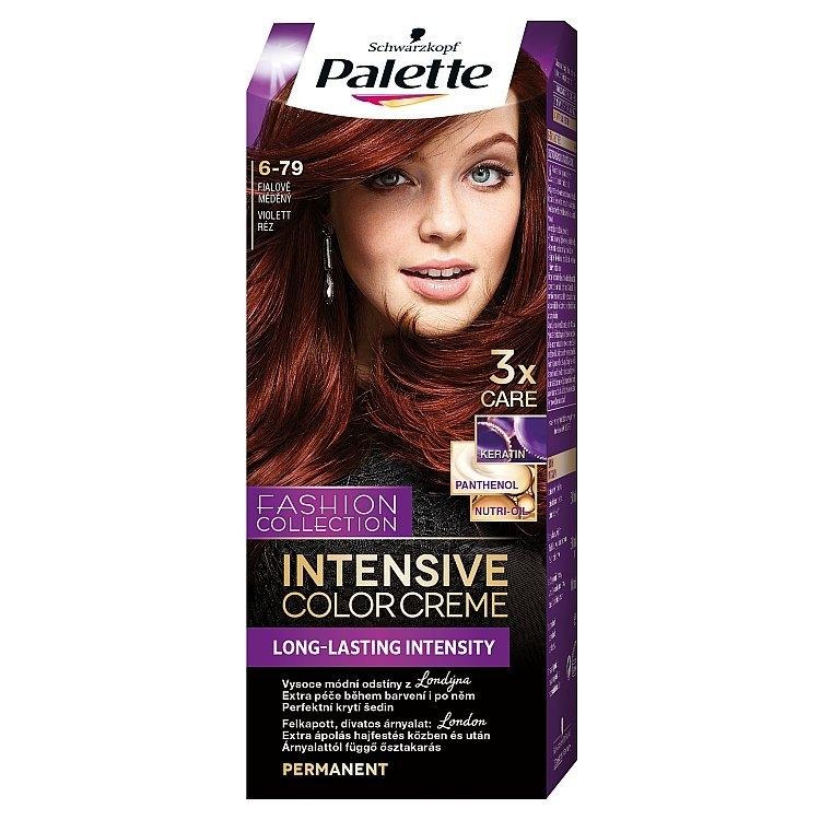 Intensive Color Creme barva na vlasy Fialově měděný (6-79)