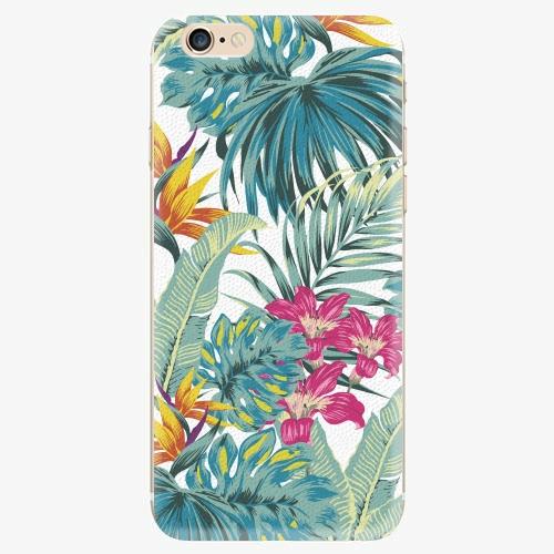 Silikonové pouzdro iSaprio - Tropical White 03 - iPhone 6/6S